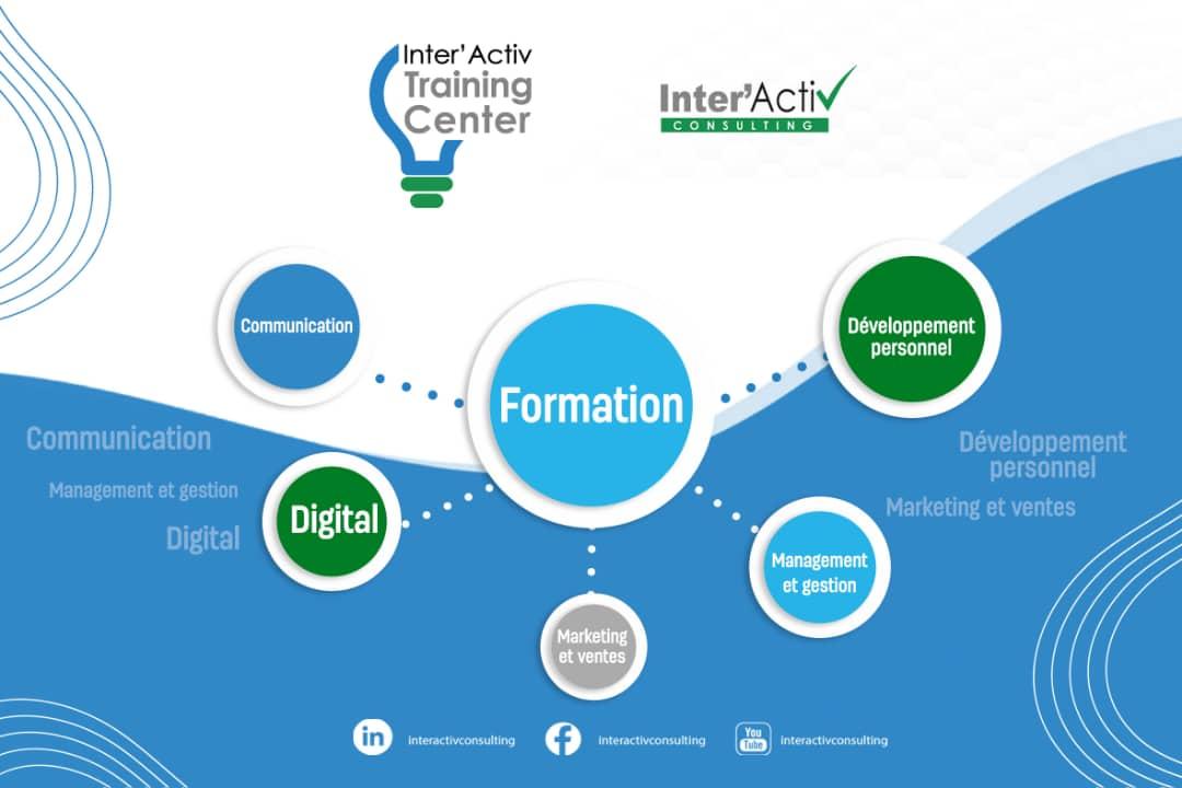 Revivez l'intégralité du lancement de notre centre de formation professionnelle continue : INTER'ACTIV TRAINING CENTER